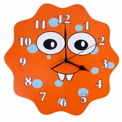 Snuggle Monster Kids Wall Clock by Trend Lab