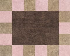 Soho Pink Accent Floor Rug by Sweet Jojo Designs