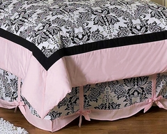 Sophia Damask Kids Bedding Queen Bed Skirt by Sweet Jojo Designs