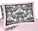 Sophia Damask Pillow Sham by Sweet Jojo Designs