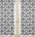 Sophia Damask Print Window Panel Curtains by Sweet Jojo Designs