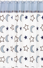 Stars and Moon Shower Curtain by Sweet Jojo Designs