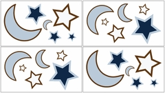 Stars and Moon Wall Decals by Sweet Jojo Designs