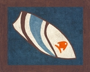 Surf Board Blue and Brown Tropical Floor Rug by Sweet Jojo Designs