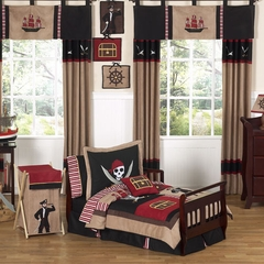 Treasure Cove Pirate Bedding - Toddler Bedding Set
