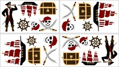 Treasure Cove Pirate Wall Decals by Sweet Jojo Designs