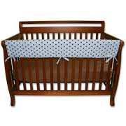 Trend Lab Crib Wrap Rail Guard - Long Max Dot Print