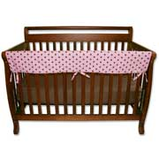 Trend Lab Crib Wrap Rail Guard - Long Maya Dot Print