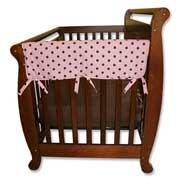 Trend Lab Crib Wrap Rail Guard - Short Maya Dot Print