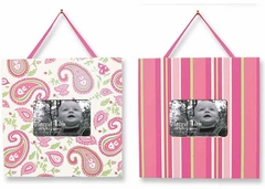 Trend Lab Paisley Park 2 Piece Baby Picture Frame Set