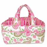 Trend Lab Paisley Park Diaper, Craft or Scrapbooking Storage Caddy