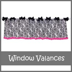 Trend Lab Window Valance Curtains