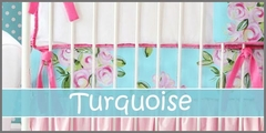 Turquoise Baby Bedding