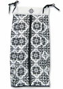 Versailles Black and White Diaper Stacker by Trend Lab