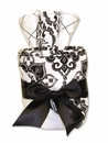 Versailles Black & White Baby Shower Bath Gift Cake