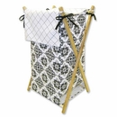 Versailles Black & White Damask Hamper Set by Trend Lab