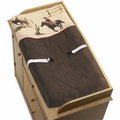 Wild West Cowboy Changing Pad Cover By Sweet Jojo Designs