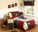 Wild West Cowboy Kids Bedding - 4 Piece Twin Set