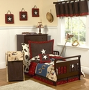 Wild West Cowboy Toddler Bedding Set