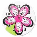 Zahara Zebra Collection Kids Wall Clock by Trend Lab