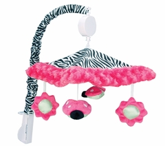 Zahara Zebra Collection Musical Mobile by Trend Lab