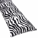 Zebra Lime Collection Body Pillow Cover