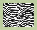 Zebra Lime Green Accent Floor Rug