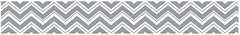 Zig Zag Chevron Yellow, Gray and White Collection Wallpaper Border
