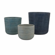 Adriel Rattan Baskets - Set of 3