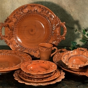 Baroque Paprika Italian Ceramic Collection by INTRADA