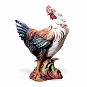 Colored Hen- Italian Ceramic