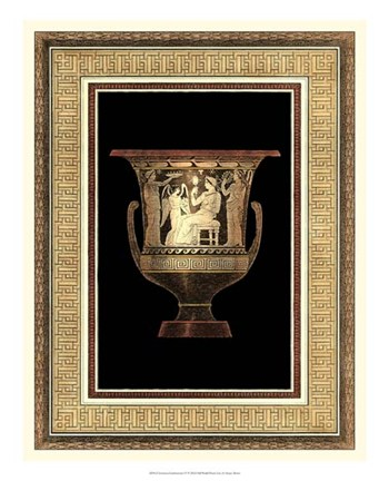 Etruscan Earthenware IV by Henry Moses Art Print