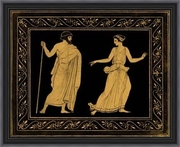 Etruscan Scene I by William Hamilton  Framed Art Print