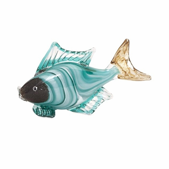 Glass Fish Statuary Collection