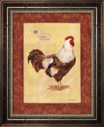 Il Galetto by Susan Eby Glass- Framed Art Print