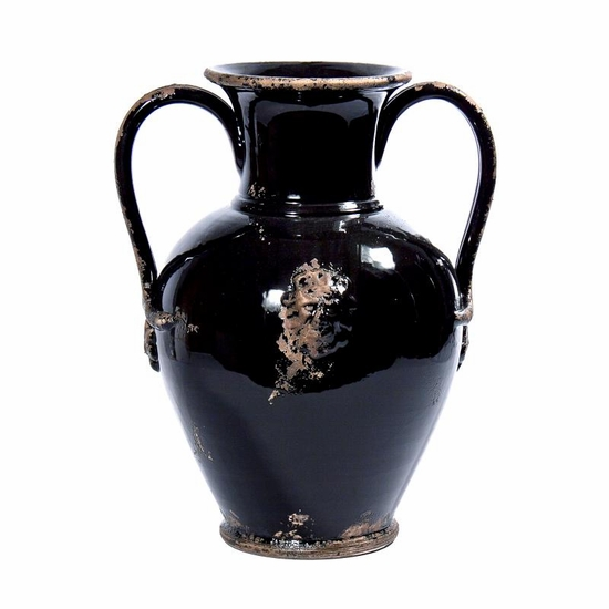 Pompei Black Italian Ceramic Collection - Intrada Italy