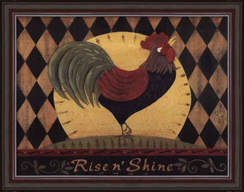 Rise N' Shine by Jo Moulton-Framed Art Print