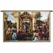 The Adoration Of The Magi Botticelli Wall Tapestry