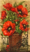 Tuscan Bouquet II by Janet Stever Art Print