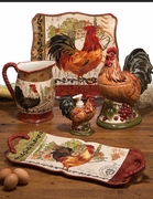 Tuscan Rooster Beverage Pitcher