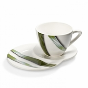 Vivere Full Green Cup & Plate