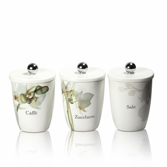 Vivere Orchid 3 Set Square Canisters