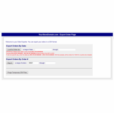 Aabaco/Yahoo Store Order Downloader