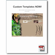 Custom Templates NOW! (e-book)