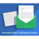 Formatted Order Confirmation Emails