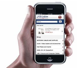 Mobile Site Implementation for Yahoo! Stores - with Unbound Commerce - Click to enlarge