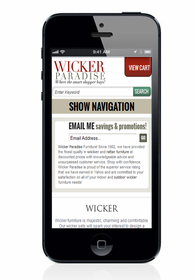 Responsive Design for Aabaco/Yahoo Stores - Click to enlarge