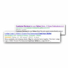 Rich Snippets for Aabaco/Yahoo Stores