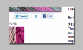 Twitter, Facebook Like, Pinterest and Google +1 buttons for Aabaco/Yahoo Stores - Click to enlarge