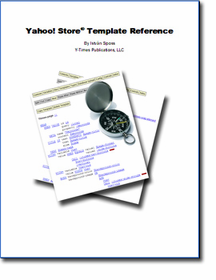 Yahoo! Store Template Reference (eBook) - Click to enlarge